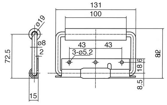 电动车电门锁电路原理图